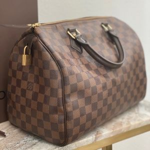 Authentic Louis Vuitton Speedy bag